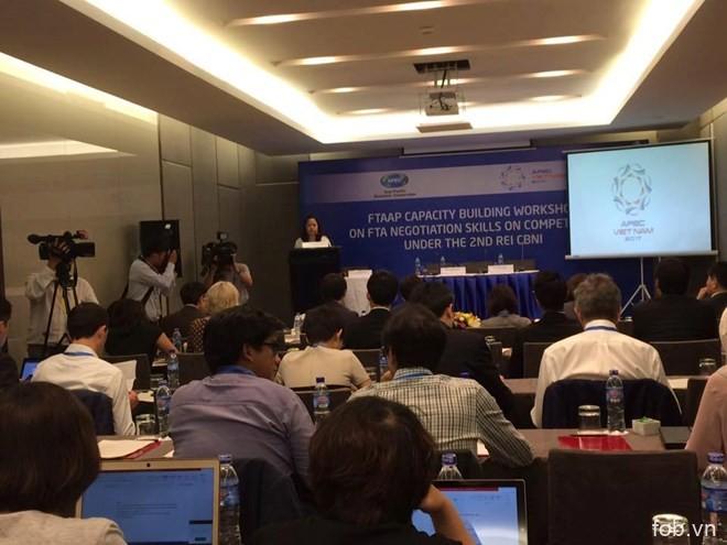 2017年APEC贸易投资委员会强调FTA竞争政策谈判技巧的重要性