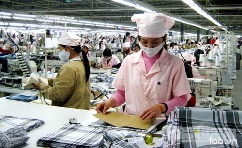 2017年前六月越南北江省出口额猛增
