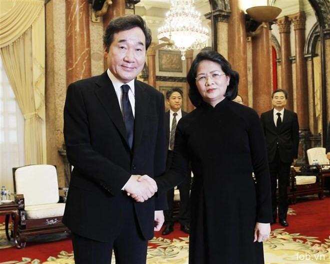 力争至2020年越韩双边贸易额达1000亿美元