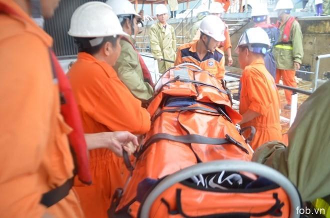 越南成功救助海上突然得脑中风的一名中国籍船员