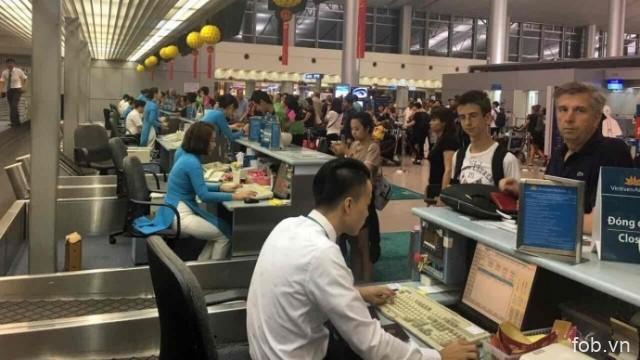 2017年前7个月越南各航空港旅客吞吐量达5500多万人次