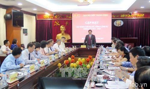 范明政会见越南新任驻外大使和总领事