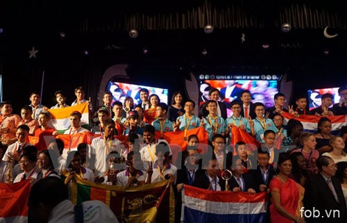 越南学生在印度国际数学竞赛夺冠