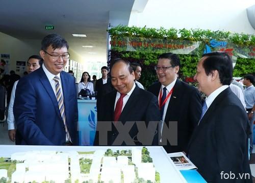 胡志明市高科技园区力争成为世界智慧和高科技之聚会点