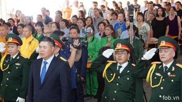 旅居德国越南人举行越南荣军烈士日70周年纪念活动