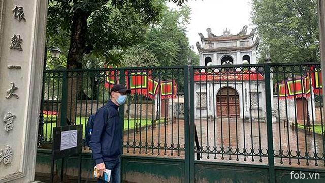 河内市部分名胜古迹暂停迎客以开展消毒防疫工作