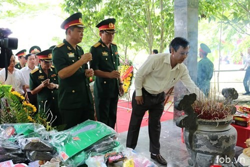 A69机务站13名通信员牺牲45周年纪念仪式在广平省举行