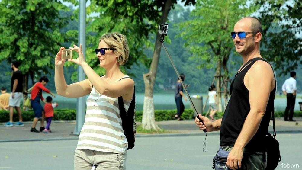 7月份河内接待外国游客量同比增长17%