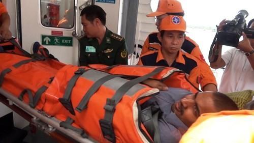 成功救助海上遇险的外籍船员