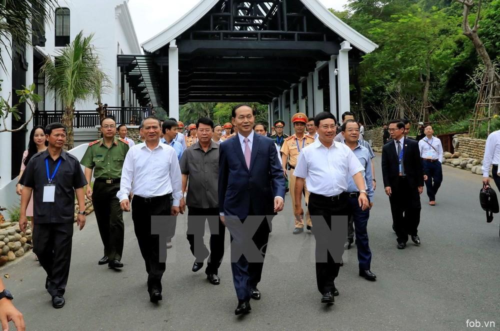 国家主席陈大光主持2017年APEC领导人会议周全程演练