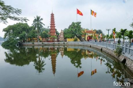 河内最古老的寺庙――镇国寺
