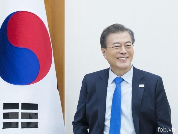 越韩两国战略合作伙伴关系积极发展