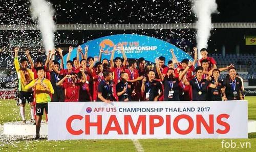 2017年东南亚U15足球锦标赛:越南U15队登顶