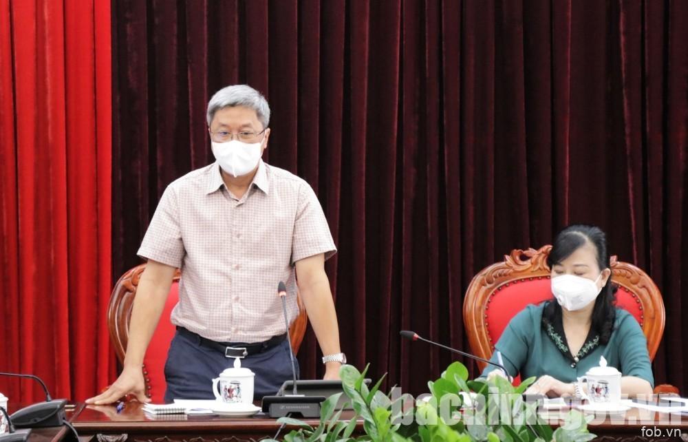 北宁省委常委关于在新形势下加强预防和控制Covid-19流行措施的执行情况会议