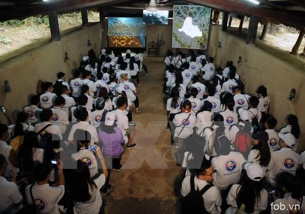青年侨胞与胡志明市年轻人夏令营正式开营
