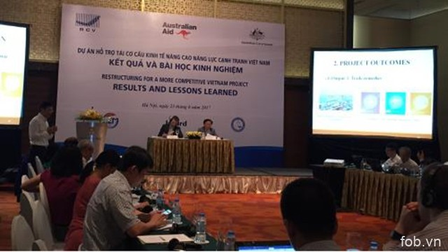 越南坚持提升竞争力的目标