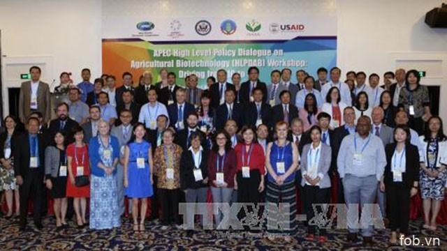 """2017年APEC会议:题为""""数字时代中农业生物技术""""的研讨会在越南芹苴市举行"""