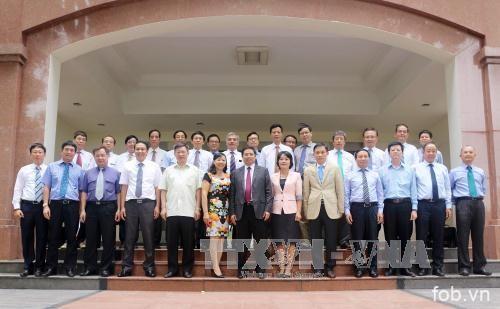 越共中央组织部举办2017-2020年任期越南驻外大使、总领事见面会