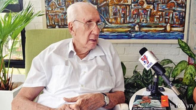 越南驻古巴大使悼念首位古巴驻越大使