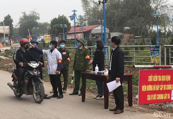 越南首都附近一公社出现7名新冠肺炎病例,逾万人被隔离