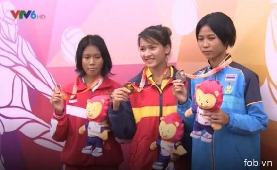 2017年东南亚学生运动会:越南田径队夺9金
